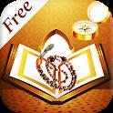 Holy Quran(Free) – Qibla Compass, Prayer Time, Dua icon