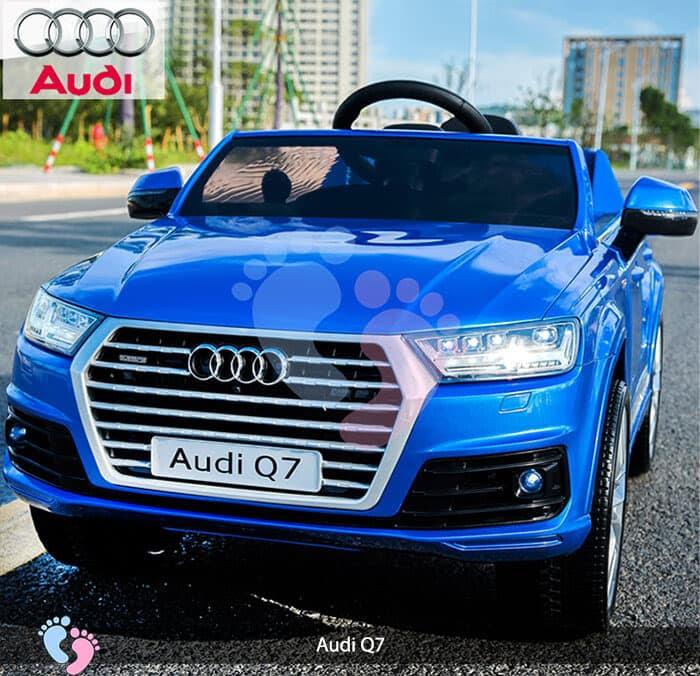 Oto điện Audi Q7 dành cho bé yêu 2