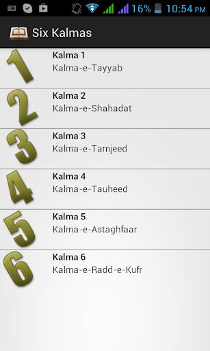 Six Kalma Apk Download Apkpureco