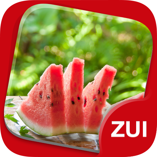 ZUI Locker Theme - Watermelon 個人化 App LOGO-硬是要APP