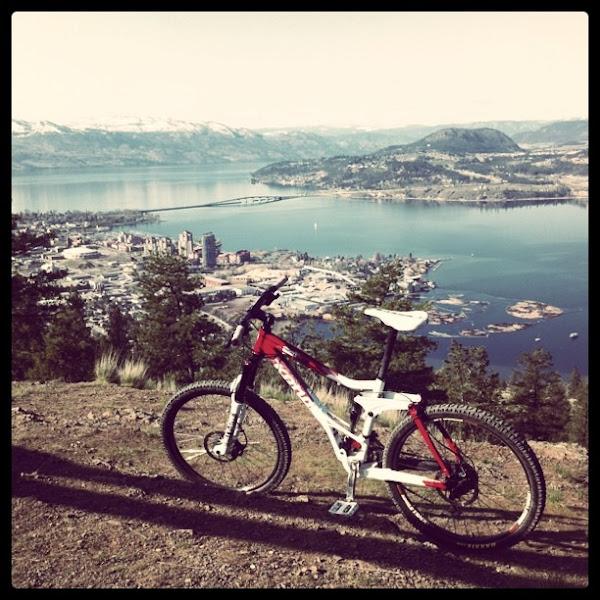 Photo: Mountain biking in Kelowna BC, Canada