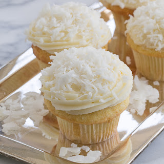 Coconut Cupcakes #HolidayFoodParty