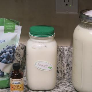 How to Make Homemade Vanilla Yogurt (Crockpot Style)