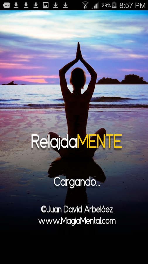 RelajadaMENTE- screenshot