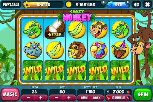 Slots - Crazy Monkey ★ FREE
