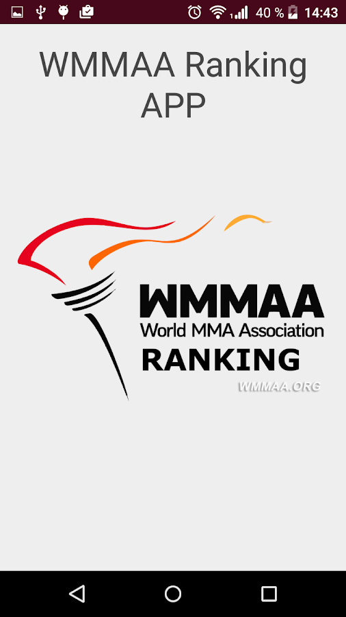 WMMAA Ranking- screenshot