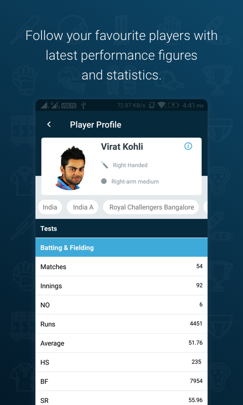 Wisden India Cricket- screenshot