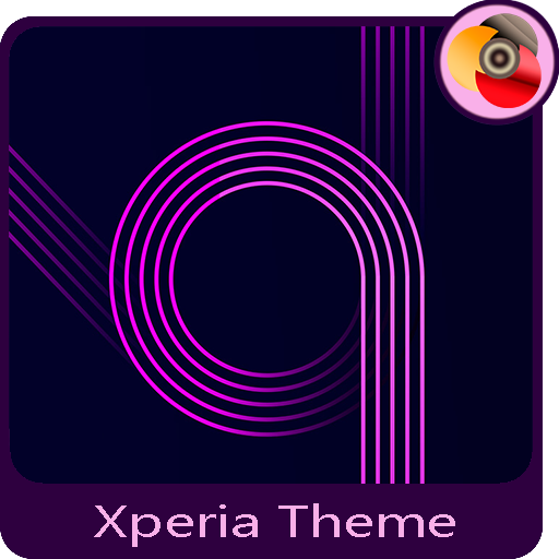 electric purple | Xperia™Theme