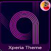 electric purple   Xperia™Theme APK