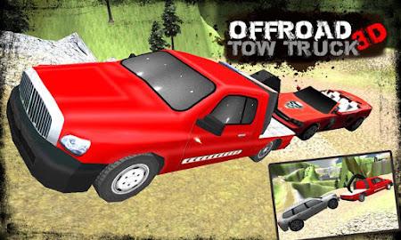 Offroad Tow Truck 3D 1.2 screenshot 1640344