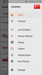 Nettuner Global Radio & Podcast Player Screenshot