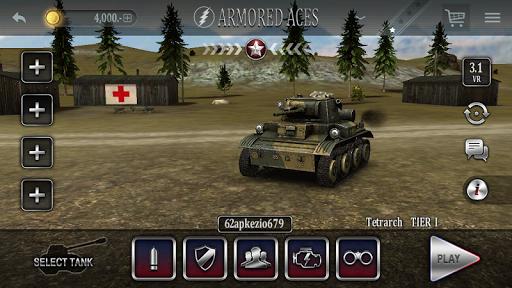 Armored Aces - 3D Tank War Online 3.0.3 screenshots 16