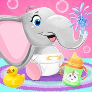 طفل فيل حيوان اليف رعاية APK