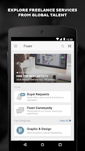Fiverr - Freelance Services- screenshot thumbnail