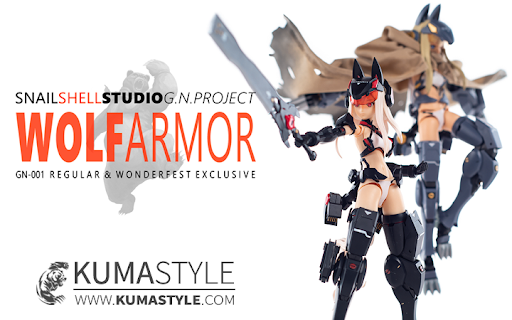 Toy Review: Snail Shell G.N. Project 001 Wolf Armor (Regular & Uncoded Editions)