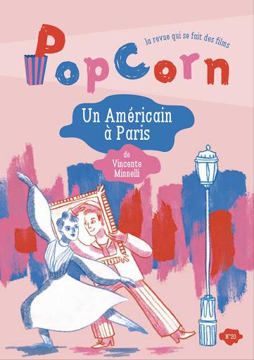 PopCorn revue cinéma éditions du maïs soufflé enfants n°20 Un Américain à paris