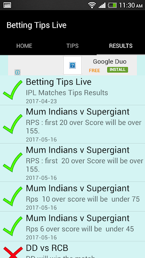 BETTING TIPS LIVE for PC