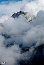 Photo: Giochi di nuvole sul Pizzo Stella.