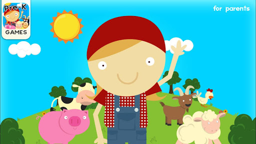 Farm Games Animal Games for Kids Puzzles for Kids  screenshots 1