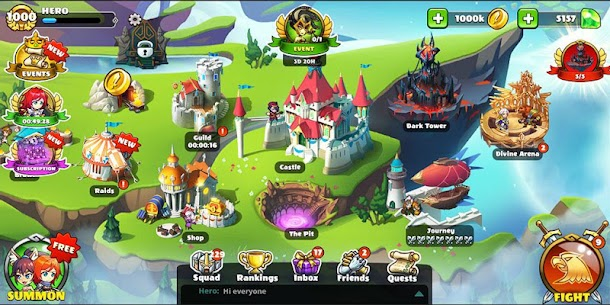 Mighty Party Battle Chess Mod Apk + OBB 1.51 (Unlimited Currency) 8