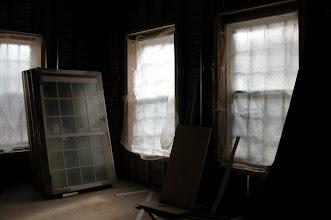 Photo: November 2004 - Month 15: Window installation. Dining Room!