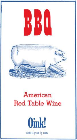 Logo for BBQ Wine Red