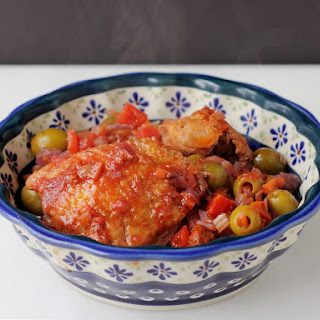 Hunter's Chicken (Chicken Cacciatore)