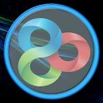 Blue Light GO Launcher Theme Icon