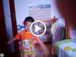 Video: some old home movies: baby son, warrenzh 朱楚甲 nuked at home.