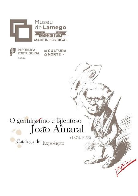 """""""O gentilíssimo e talentoso João Amaral"""" em catálogo"""