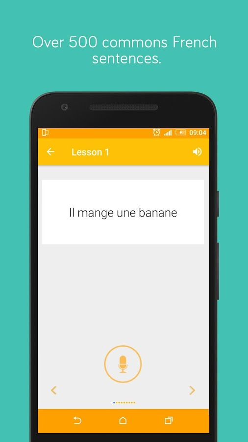 French Pronunciation Practice- screenshot