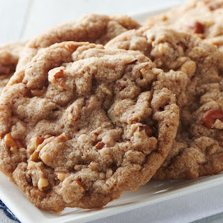 Cinnamon-Toffee Pecan Cookies.