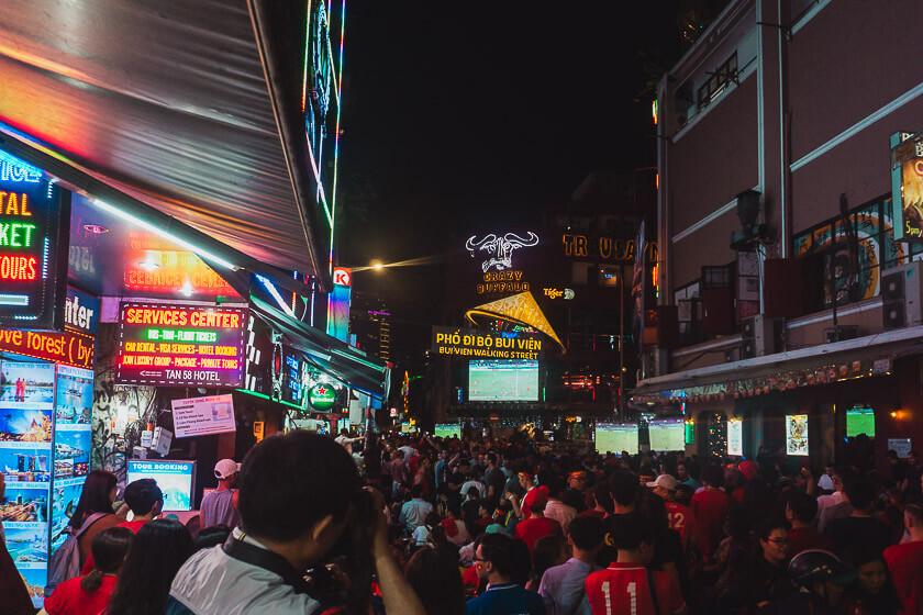 Bui Vien Street.