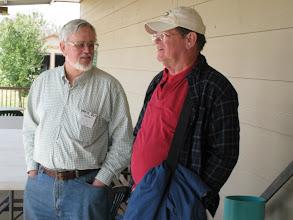 Photo: Pete Guy and Ed Rains.   HALS 2009-0228