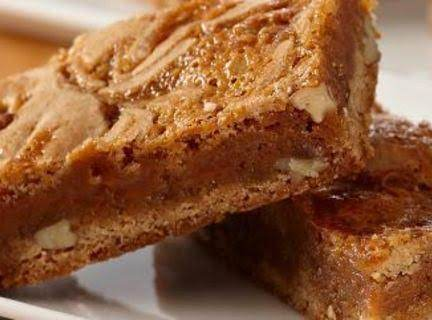 Caramel Cinnamon Swirl Bars Recipe