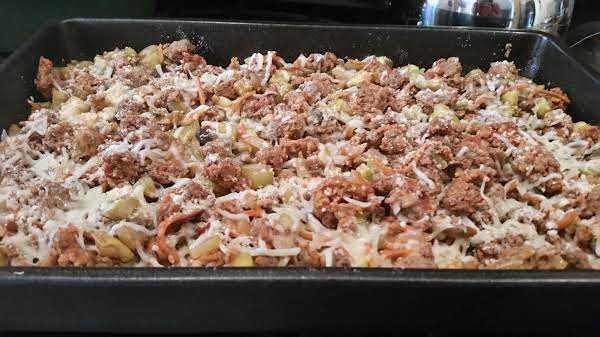 Vegetable And Meat Casserole Recipe