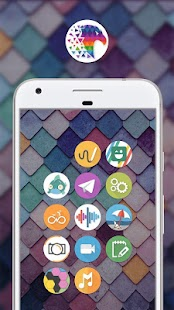 Pix Up - Round Icon Pack Screenshot