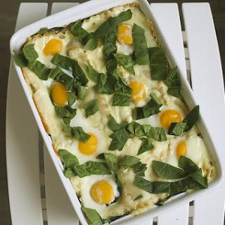 Breakfast Lasagna Benedict