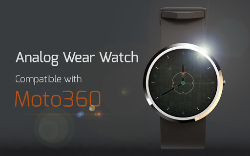 Analog Wear Watch