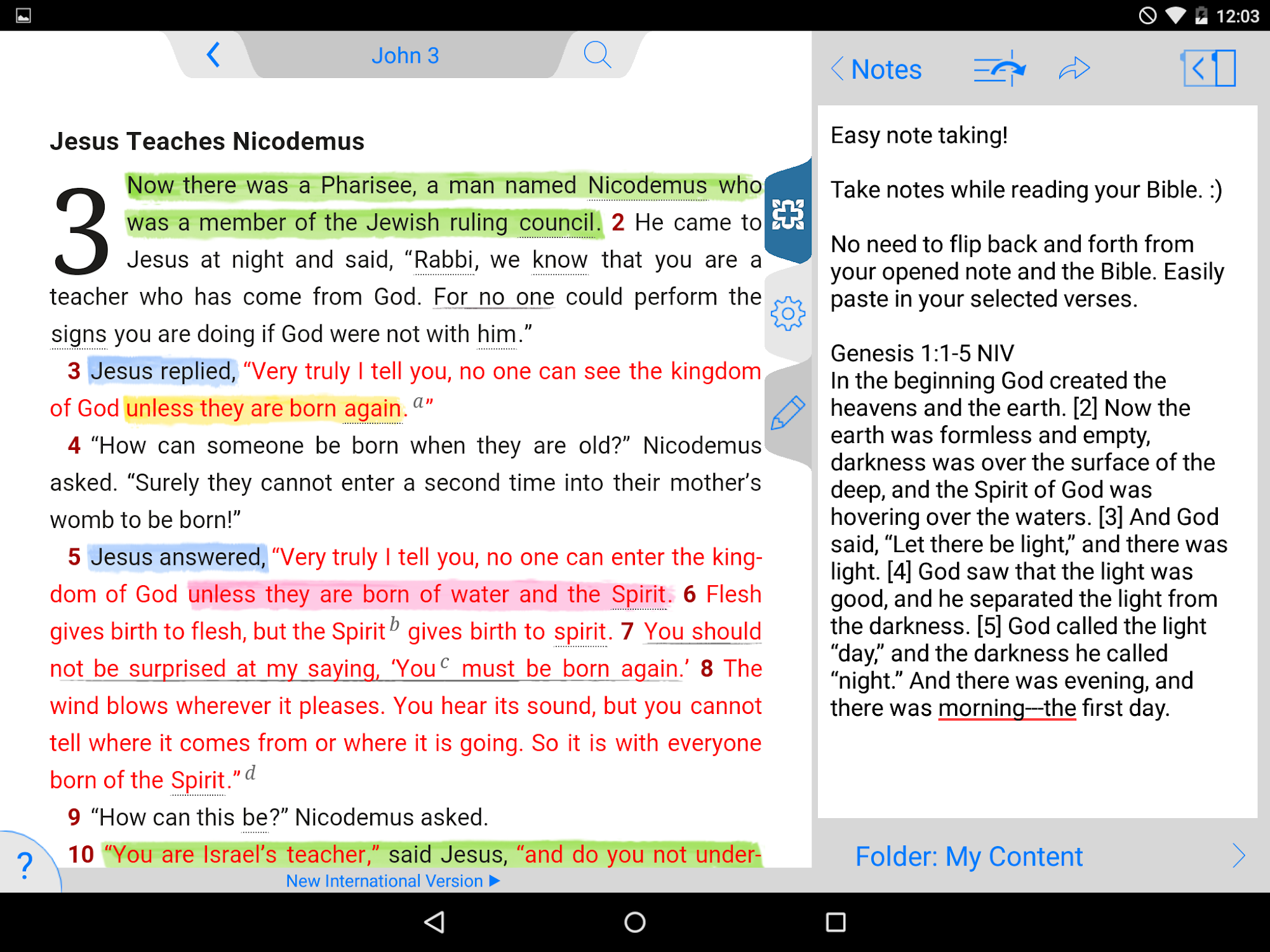 NIV Study Bible screenshot #16