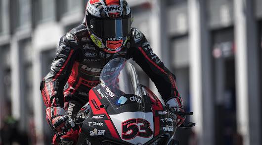 Tito Rabat logra puntuar en la segunda carrera de Magny Cours