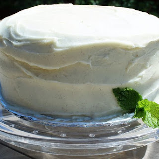 Black Walnut Layer Cake with Vanilla Cream Frosting