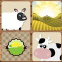 Memory Game for Kids : Farm icon