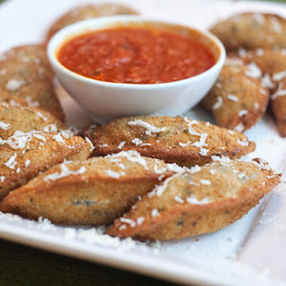 Grilled Chicken Toasted Ravioli