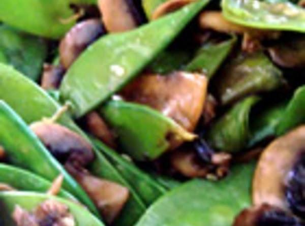 Snow Peas And Mushrooms Recipe