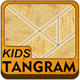 Wooden shape puzzle for kids icon