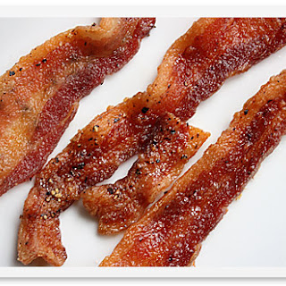 Baked Bacon.