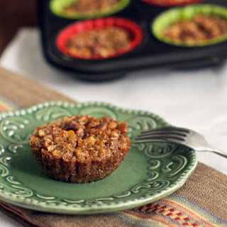 Crustless Mini Pecan Pies (grain-free)