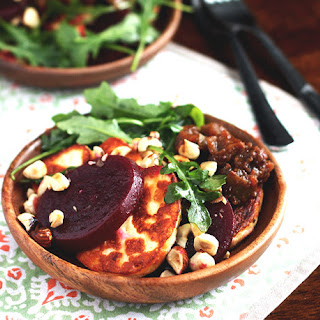 Winter Beet Caprese Salad