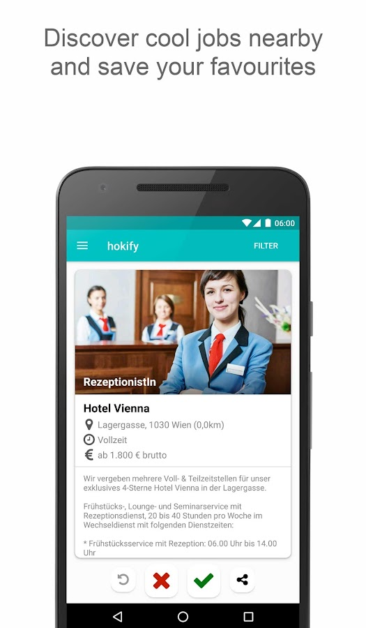 hokify - Job Search & Career- screenshot